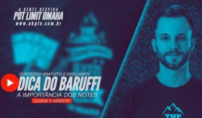 "Dica do Baruffi  👁 A importância dos ""notes"" 🗂"